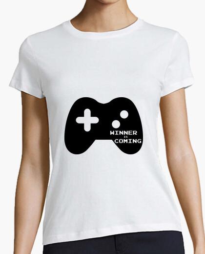 Camiseta ganador está llegando