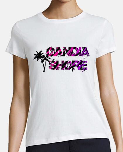 Camiseta Gandia Shore - Palm Chica
