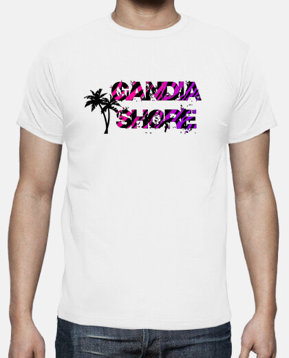 Camisetas Gandia Shore - Palm Chico