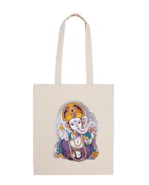 Ganesh Bolsa tela 100% algodón
