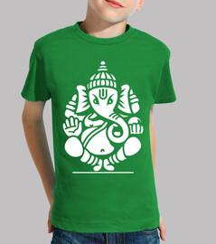 Ganesh Ganesha Elefante No.4 (blanco)