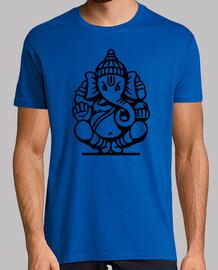 Ganesh Ganesha Elefante No.4 (negro)