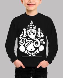 ganesh ganesha elephant no.4 (white)