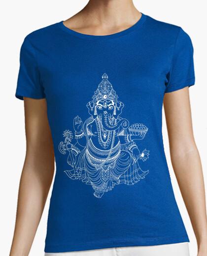 Camiseta Ganesha blanco