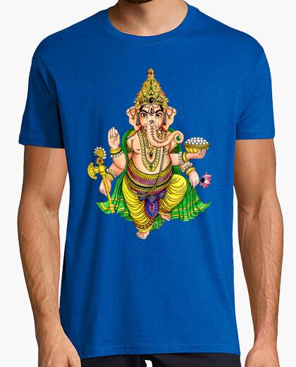 Tee-shirt ganesha de couleur