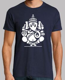 ganesha éléphant n ° 4 (blanc)