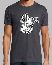 ganesha éléphant n ° 5 (2 couleurs)