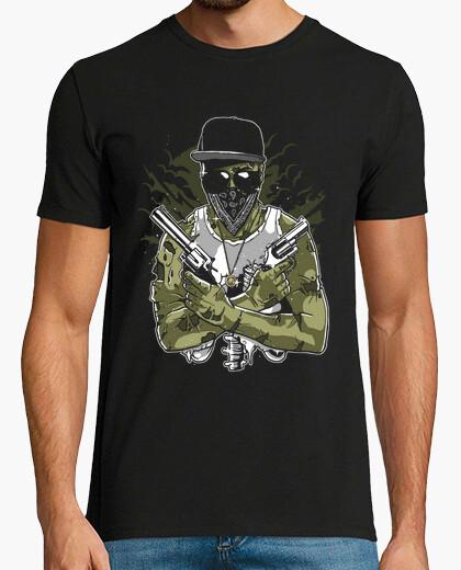 Camiseta Gangsta Zombie
