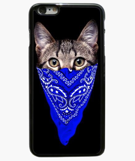 best service 80adb 3e5f2 Gangster cat (blue bandana) iphone 6 / 6s plus case