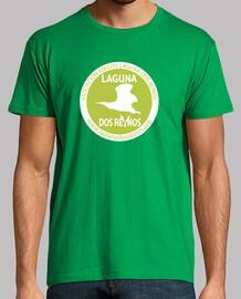 garçon  tee shirt  verte et logo blanc
