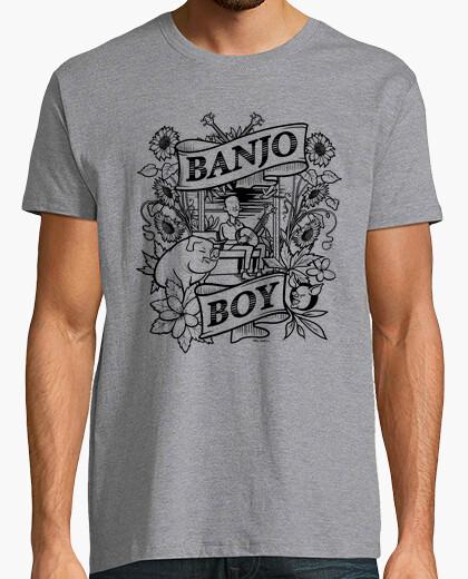 Tee-shirt garçon banjo