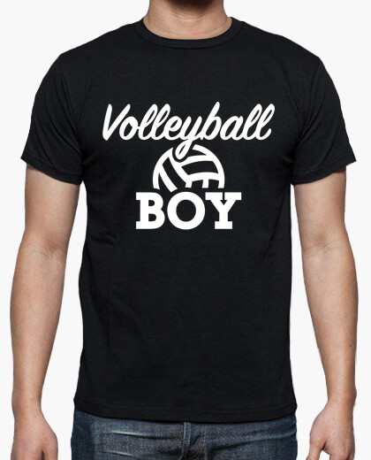 Tee-shirt garçon de volley-ball