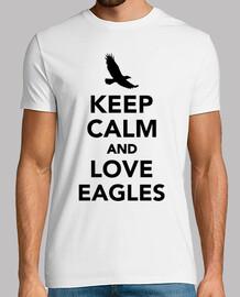 garder aigles calme et amour