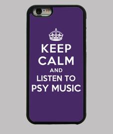 garder calme et écouter de la musique psy