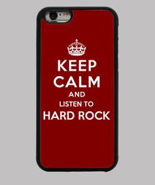 garder calme et écouter du hard rock