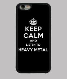 garder calme et écouter du heavy metal