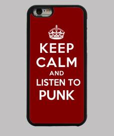 garder calme et écouter du punk