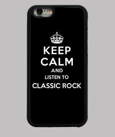 garder calme et écouter du rock classique