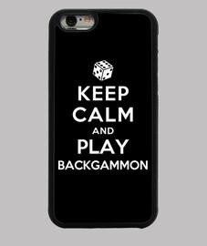 garder calme et jouer au backgammon