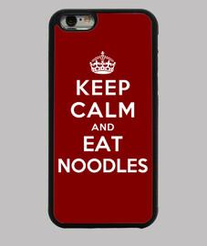 garder calme et manger des nouilles