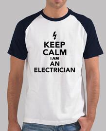 garder im calme un électricien