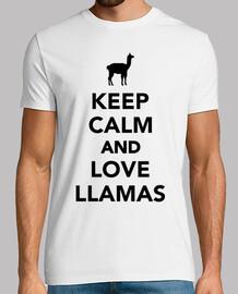 garder lamas calme et amour