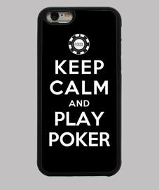 garder le calme et jouer au poker