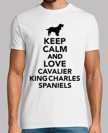 garder le calme et l'amour cavalier king charles