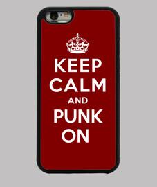 garder le calme et le punk sur