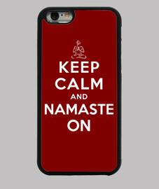 garder le calme et sur namaste