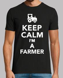 garder le calme im un agriculteur