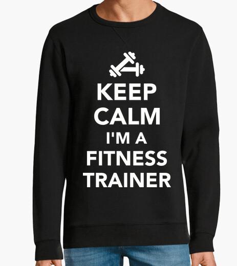 Sweat garder le calme im un entraîneur de fit