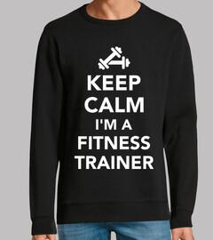 garder le calme im un entraîneur de fit