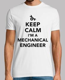 garder le calme que je suis un ingénieur en mécanique