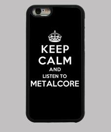 garder son calme et d'écouter metalcore