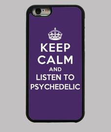 garder son calme et d'écouter psychédélique