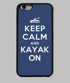 garder son calme et du kayak sur