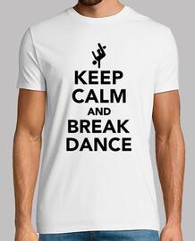 gardez le calme et breakdance