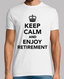 gardez le calme et profiter de la retraite