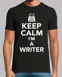 gardez le calme im un écrivain