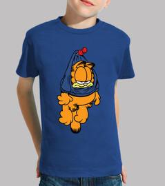 Garfield colgao