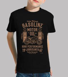 gaso line moto r olio