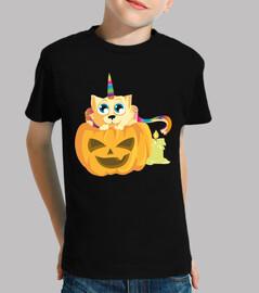 Gaticornio Calabaza Halloween