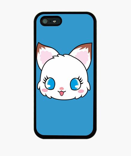 Funda iPhone gatito blanco