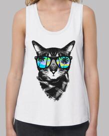 gatito de tiempo de verano