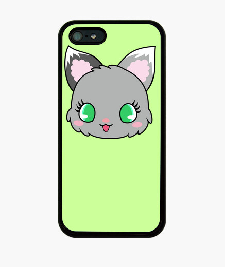 Funda iphone gatito gris n 737755 fundas iphone latostadora - Personalizar funda iphone ...