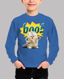 Gatito y susto - Boo!