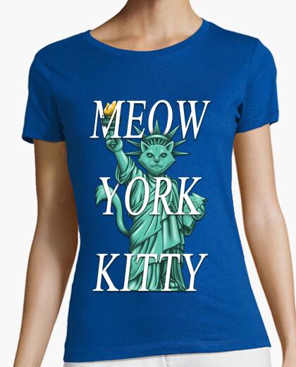 Camiseta gatito York maullido
