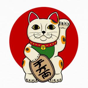 Tee-shirts gato afortunado