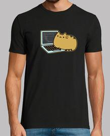 Gato Android Developer Camiseta